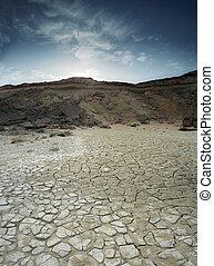 Loam Wüste.