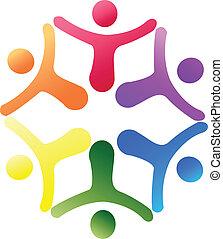 logo, unterstuetzung, mannschaft