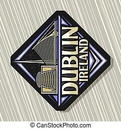 logo, vektor, dublin