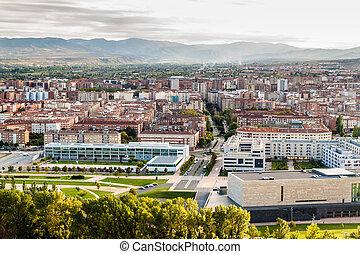 Luftaufnahme von Logrono.