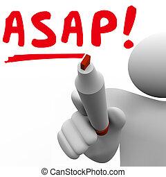 möglich, res, möglich, schnell, bald, person, wörter, schreibende, geschwindigkeit, mann