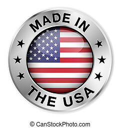Made in the USA Silbermarke