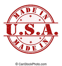 Made in USA Stempel.