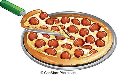 mahlzeit, pizza