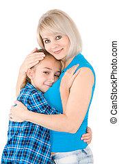 Mama mit Tochter
