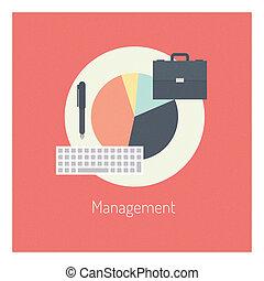 Management-Material-Konzept