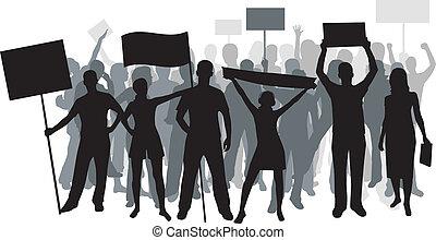 Manifestation.