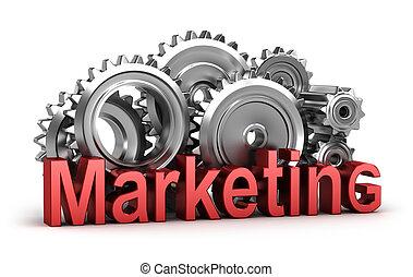 marketing, bewegung