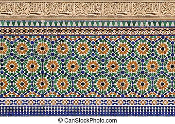 marokkanische Architektur Details.