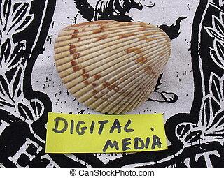medien, wort, digital
