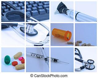 medizinische collage