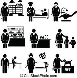 Medizinische Krankenhausarbeit