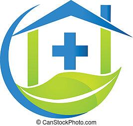 Medizinisches Natur-Logo.