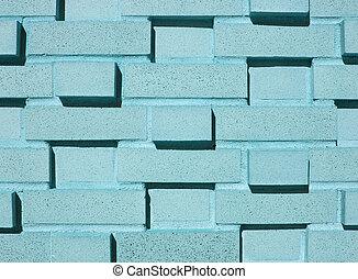 Mehrschichtige Aquamauer