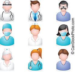 Menschen-Ikonen - Medizin