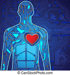 Menschliche Herztechnologie