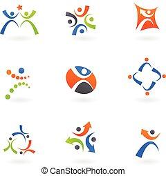 Menschliche Ikonen und Logos 2
