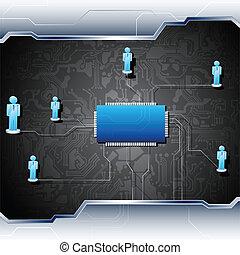 Menschliche Netzwerke an Bord