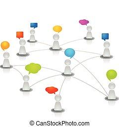 Menschliches Netzwerk