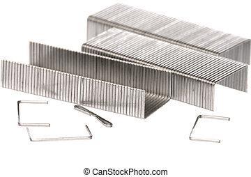 Metallklammern Makro
