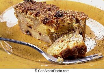 mexikanisch, pudding, bread