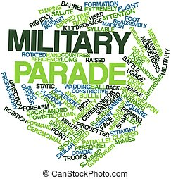 militärische parade