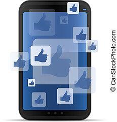 Mobile soziale Netzwerke