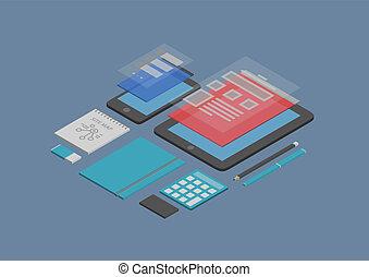 Mobiles Webdesign und Entwicklungsprogramm
