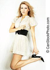 Modemodell mit leichtem Hintergrund