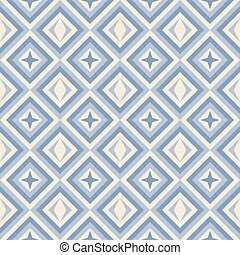 Modemuster mit Quadraten und Sternen