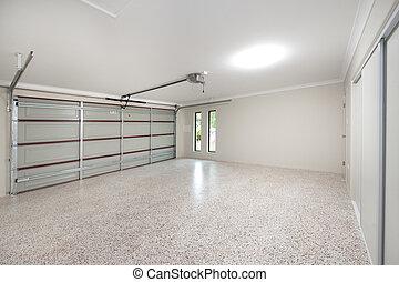 Moderne Garageninterne