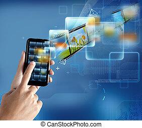 Moderne Technologie Smartphone