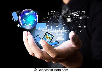 Moderne Technologie und soziale Medien