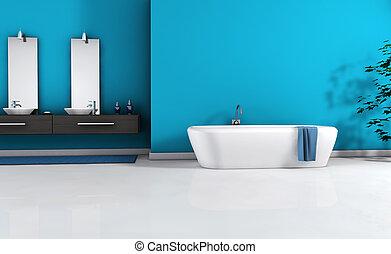 Modernes Badezimmer-Insider