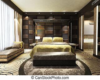 Modernes Schlafzimmer