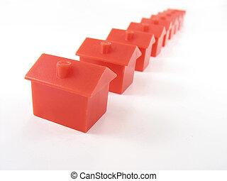 Monopoly-Häuser
