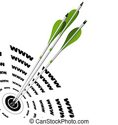 motor, durchsuchung, guten, zentrieren, symbol, www, pfeile, drei, ihm, schlagen, geschrieben, optimization, grün, wohin, ziel