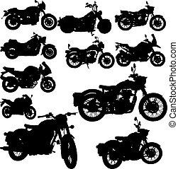 Motorrad-Klassikvektor