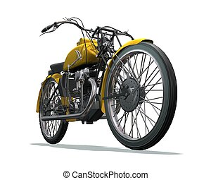 Motorrad-Retro