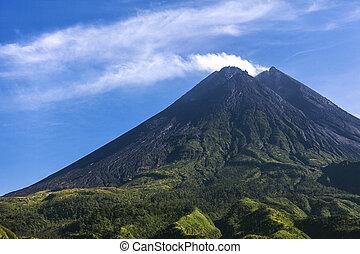 Mount Merapi.