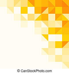 muster, abstrakt, gelber