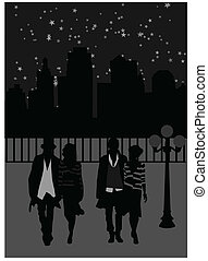 Nachtspaziergänge