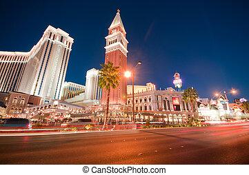 Nachtszenen aus Las Vegas