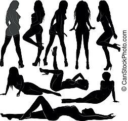 Nackte Frauen.