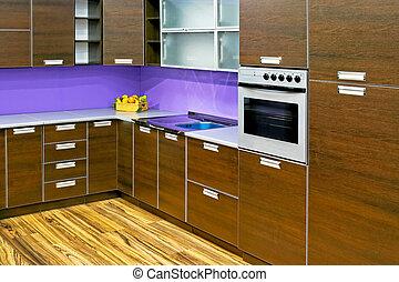 Neue Holzküche