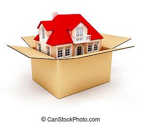 Neues Haus in der Box
