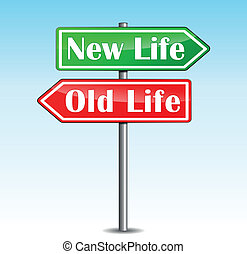 neues leben, pfeile