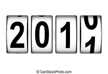 Neujahr 2011.