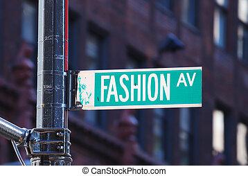 New York City Mode Avenue