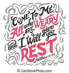 notieren, müde, alles, bibel, kommen, mir